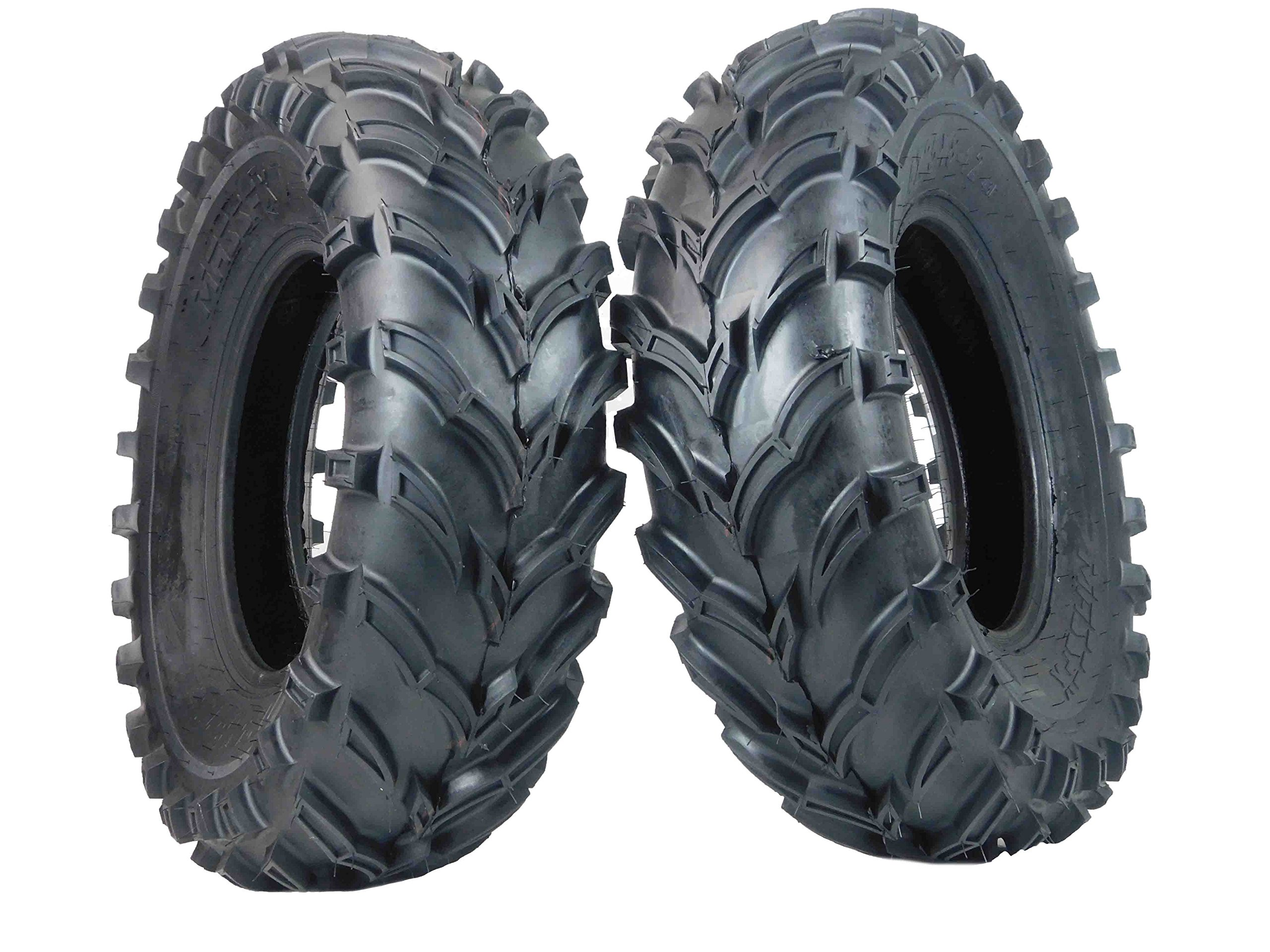 One Pair of MassFx P377 ATV/UTV Front Tires 25x8-12 Front Set of 2 25x8x12