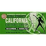 6pk - California Tea - Dieters Drink - 20 bags