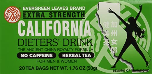 Amazon.com: 6pk – California té – Dieters Bebida – 20 bolsas ...