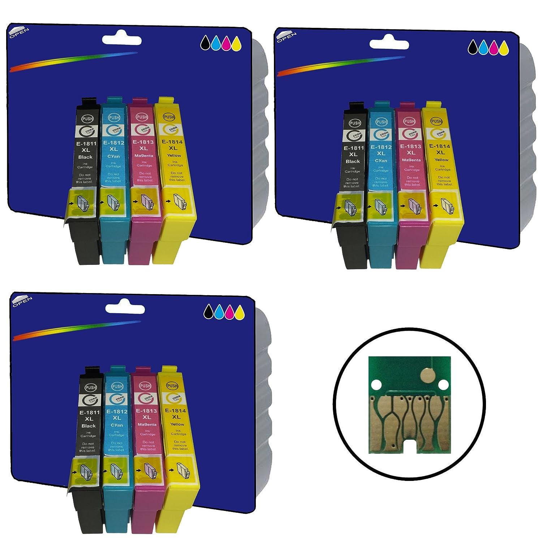 3 juegos de cartuchos de tinta XL no OEM Compatible para ...
