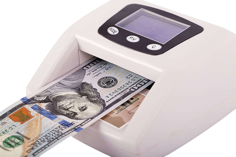 Amazon.com:多通貨自動偽造紙幣検出器にはMG / UV / IR / COLOR / SIZE検出が含まれています。 偽金から身を守りましょう! :事務用品