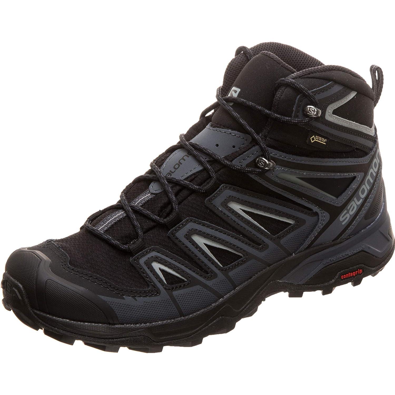SALOMON X X X Ultra 3 Mid GTX Trail Laufschuh Herren schwarz grau, 10 UK - 44 2 3 EU - 10.5 US 14761d