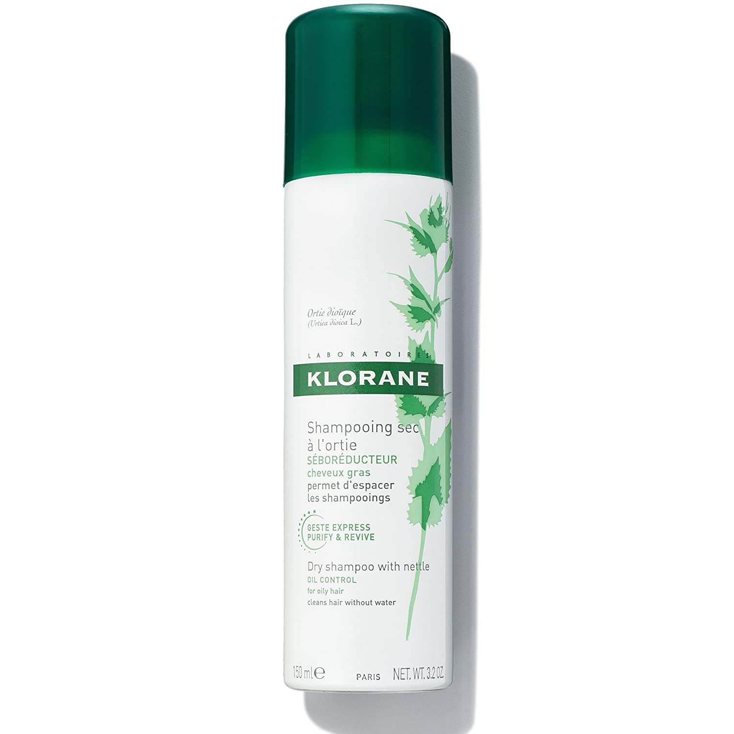 Klorane Nettle Sebo-Regulating Dry Shampoo 150ml Pierre Fabre 4117