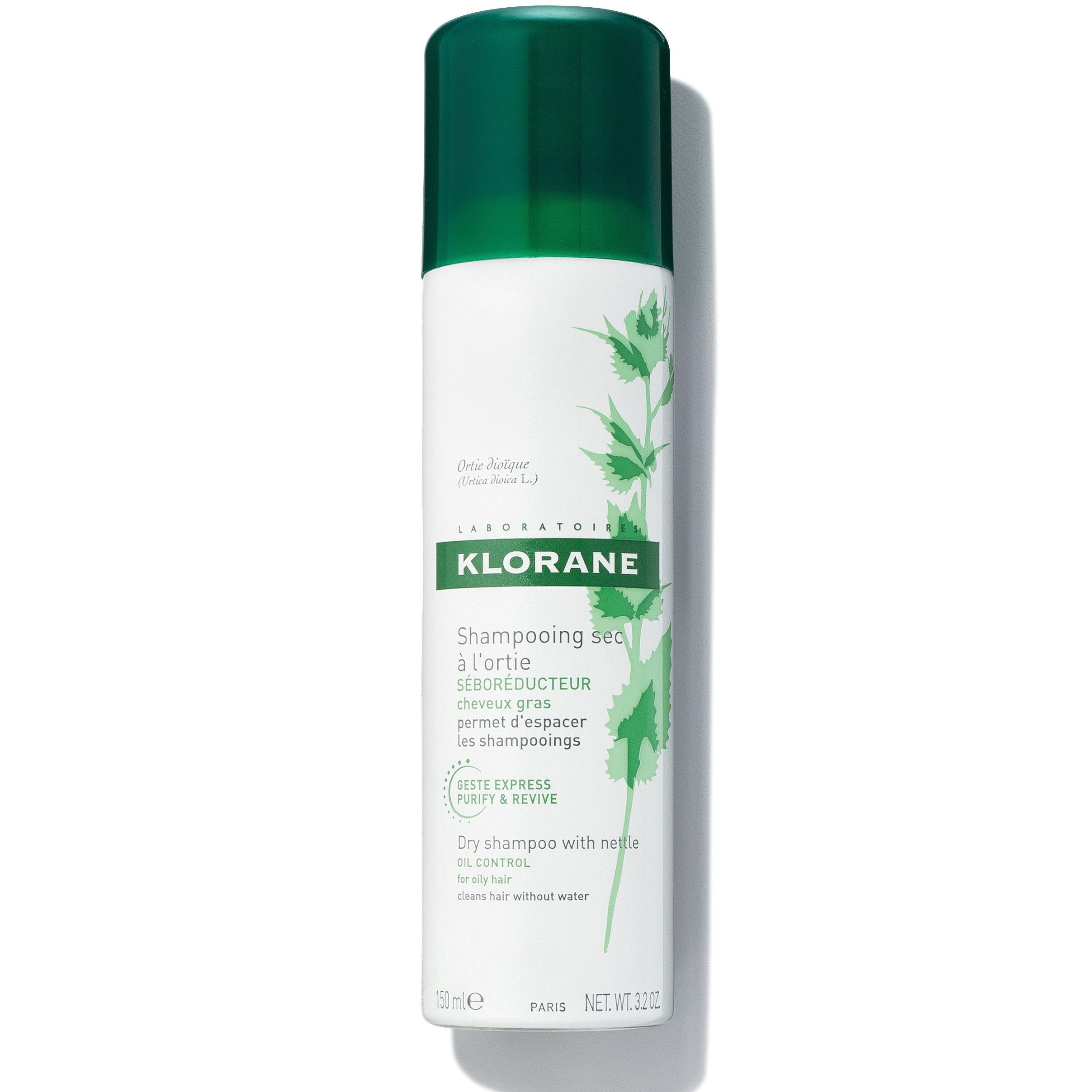 3. Klorane Shampoo Ultra-Gentle-Residue Fragrance - Best Dry Shampoo for Sensitive Scalps