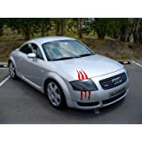 ViaVinyl Claw Marks Headlight Decal Available in Nine Colors!. Genuine Brand Name Vinyl Sticker/Decal for Sports Cars. (Red)