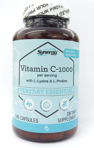 Vitacost L-Lysine L-Proline Complex — 240 Capsules