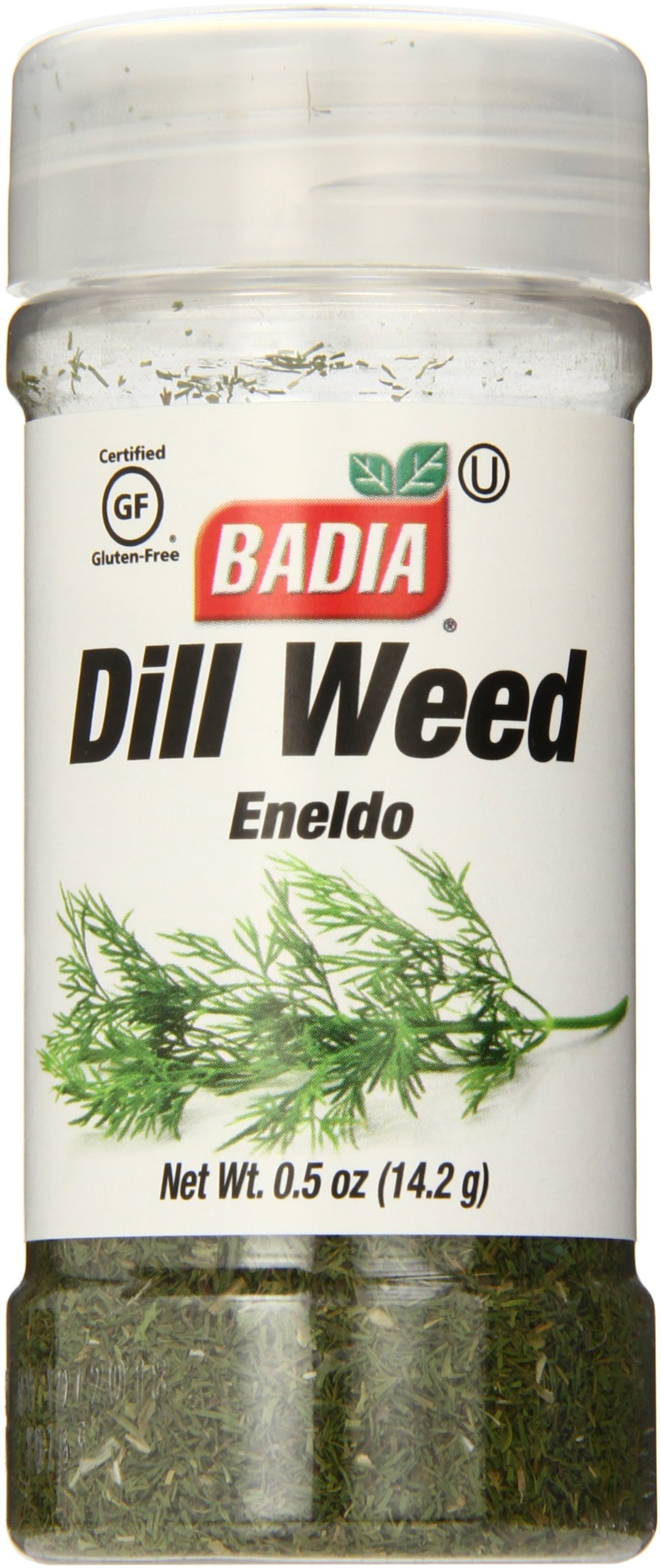 Badia Dill Weed.5 Ounce (Pack of 12)
