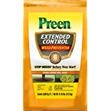 Preen 2464238 Extended Control Weed Preventer, 21.45 lb. -Covers 3,500 sq. ft