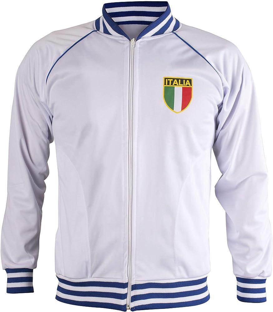 JL Sport Italia/Italia Chaqueta De Chándal De Fútbol Retro con ...