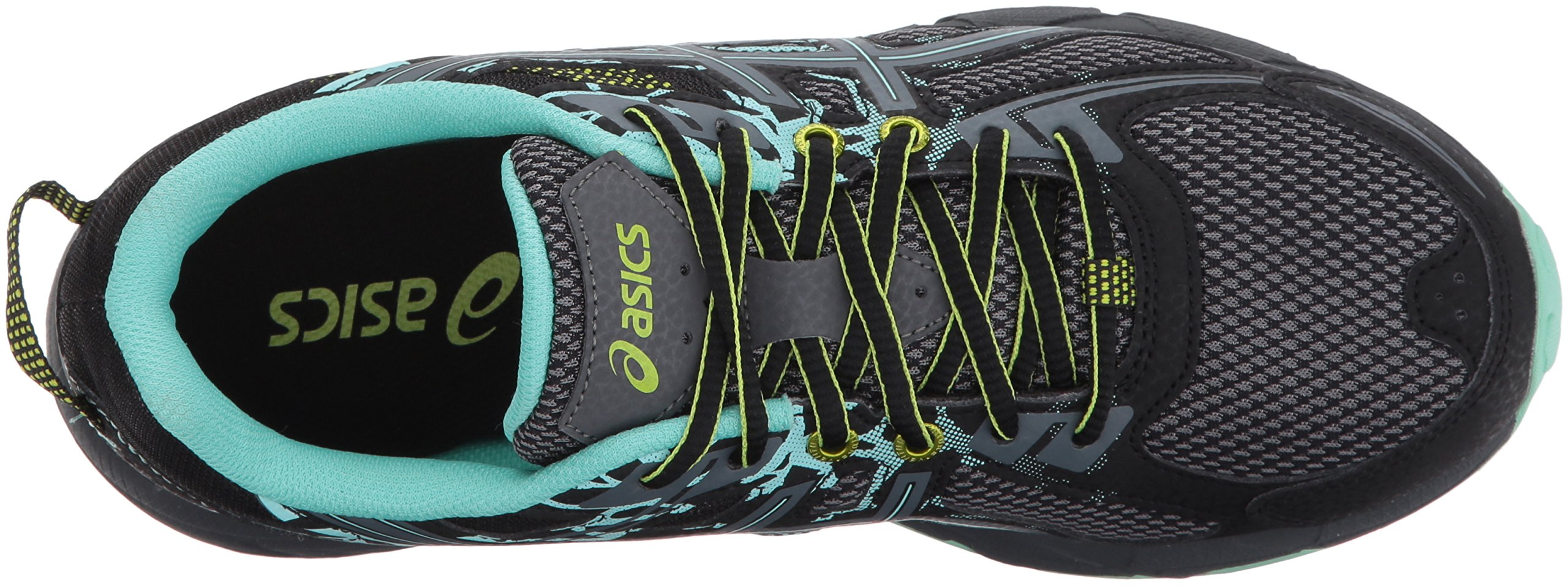 ASICS Women's Gel-Venture 6 Running-Shoes,Black/Carbon/Neon Lime,5 Medium US by ASICS (Image #8)
