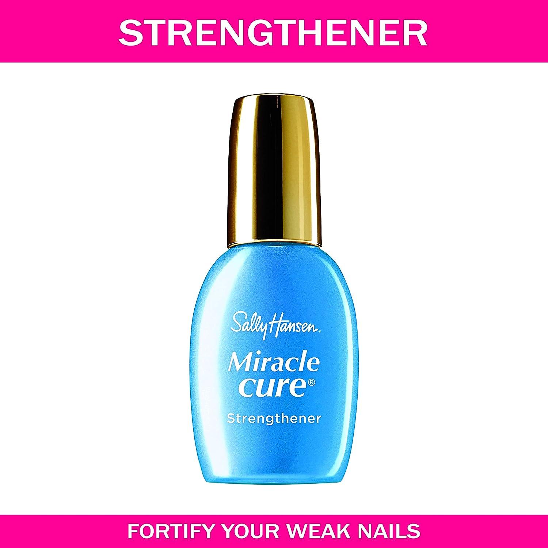 b5f352ae3a9 Amazon.com   Sally Hansen Miracle Cure for Severe Problem Nails 0.45 Fluid  Ounce   Nail Growth Formula Treatments   Beauty