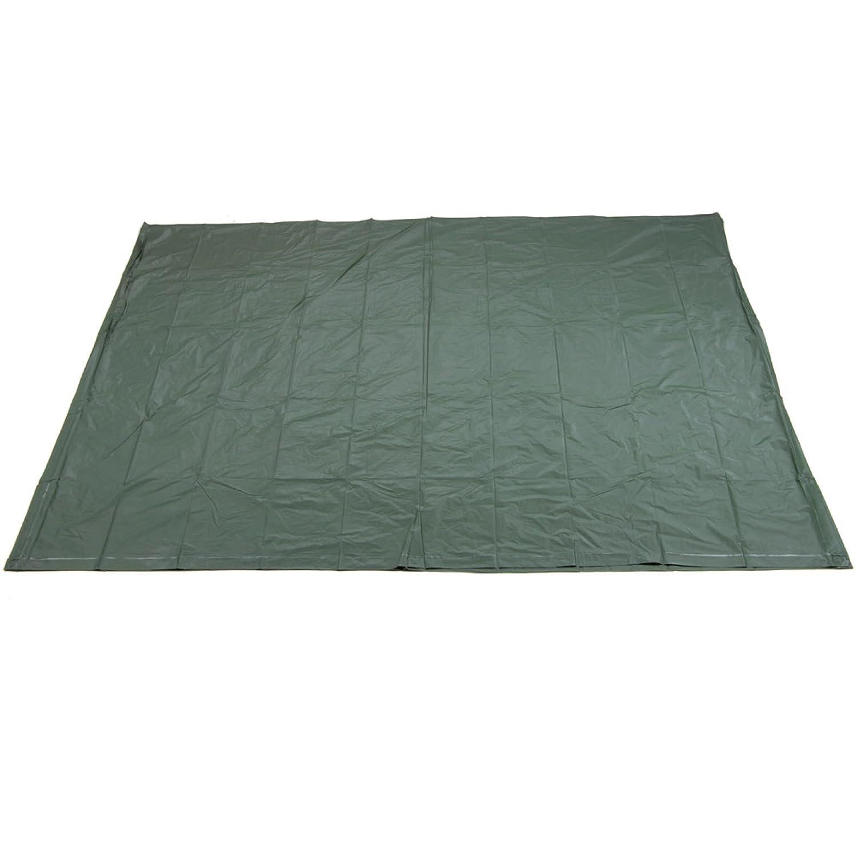 3943 170/x 230/cm verde oliva AceCamp Unterlage lona impermeable tienda suelo con ojales