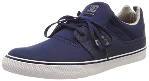 DC Shoes Heathrow Vulc TX, Sneaker Uomo, Blu (Navy Nvy), 46 EU