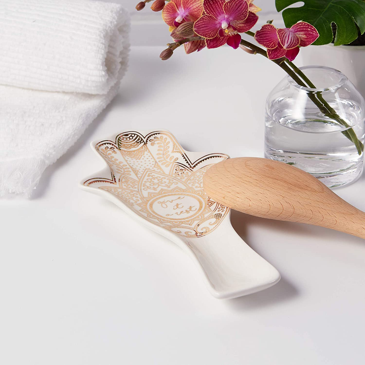 Tri-coastal Design Animal Spoon Rest Ideal for Your measuring Needs in Kitchen boho