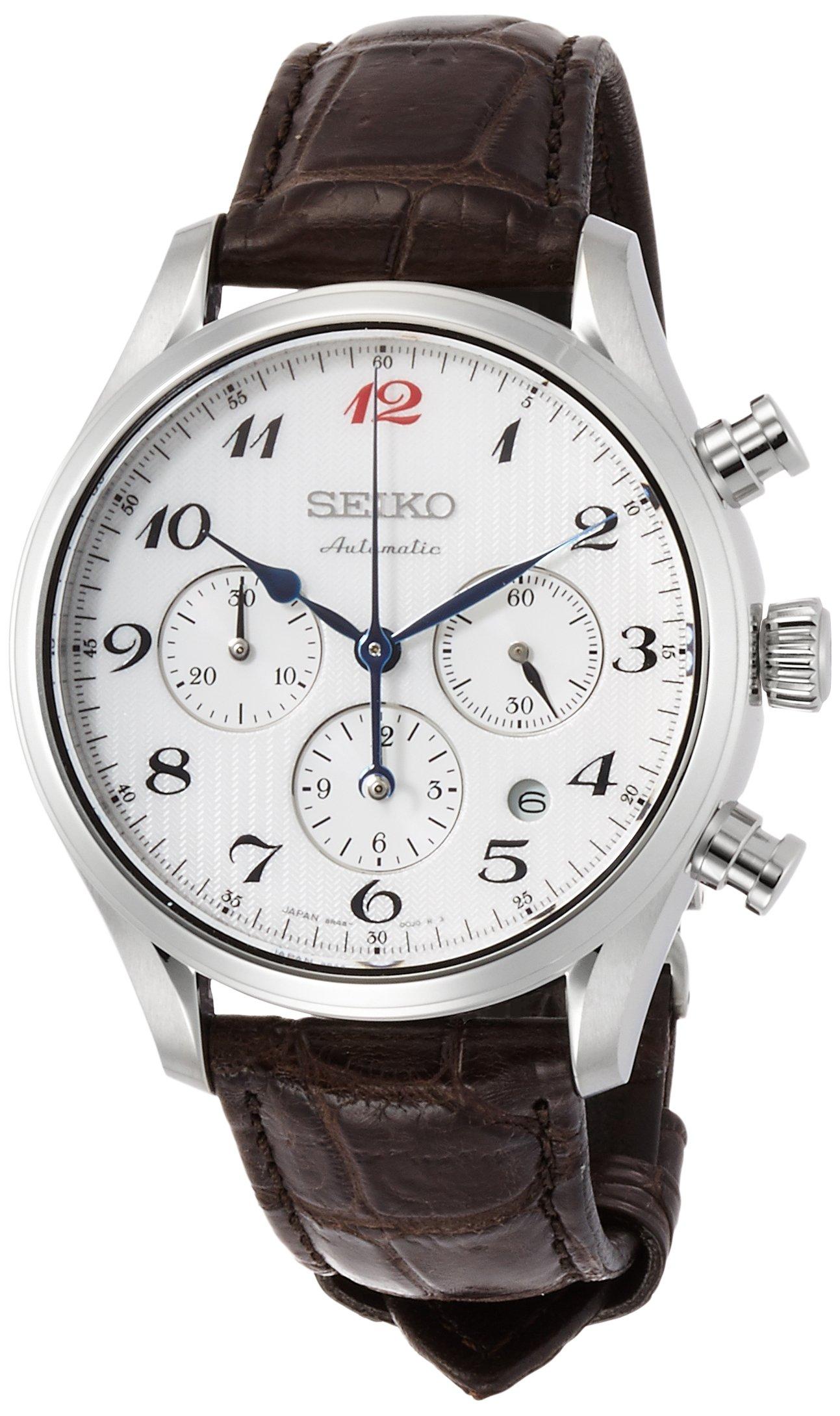 SEIKO (PRESAGE) ''Prestige line mechanical chronograph'' SARK011 men's(Japan Import-No Warranty)