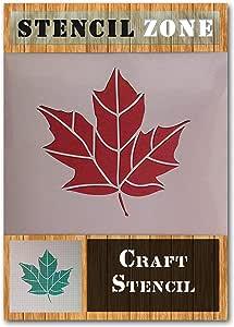 La hoja del /árbol de la ramita hojas de oto/ño Mylar aer/ógrafo Pintura Crafts arte de la pared de la plantilla 1-XS