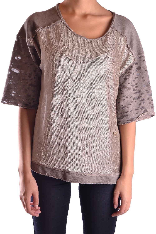 No Secret Damen Poloshirt Kurzarm Blau große Größen T-Shirt Baumwolle L XL XXL