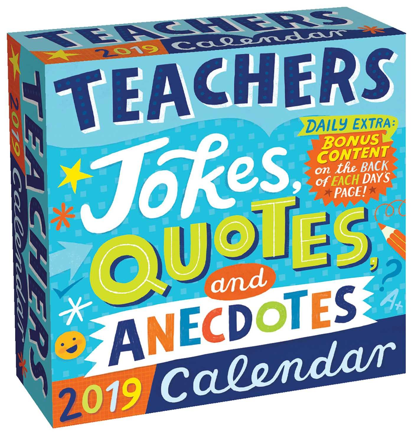 Teachers 2019 Day-to-Day Calendar: Jokes, Quotes, and Anecdotes by Andrews McMeel Publishing