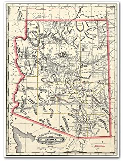 Map Of America Los Angeles.Amazon Com Antiguos Maps Map Of Greater Los Angeles The Wonder