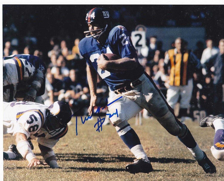 Tucker Frederickson Autographed Photo - 8x10 - Autographed NFL Photos Sports Memorabilia