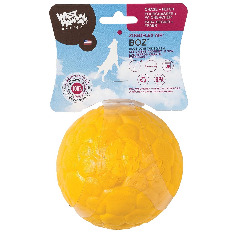 West Paw Design Zogoflex Air Boz Dog Ball Play Dog Toy