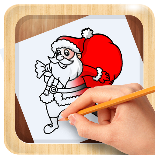 amazon com how to draw christmas santa claus santa claus xmas appstore for android how to draw christmas santa claus