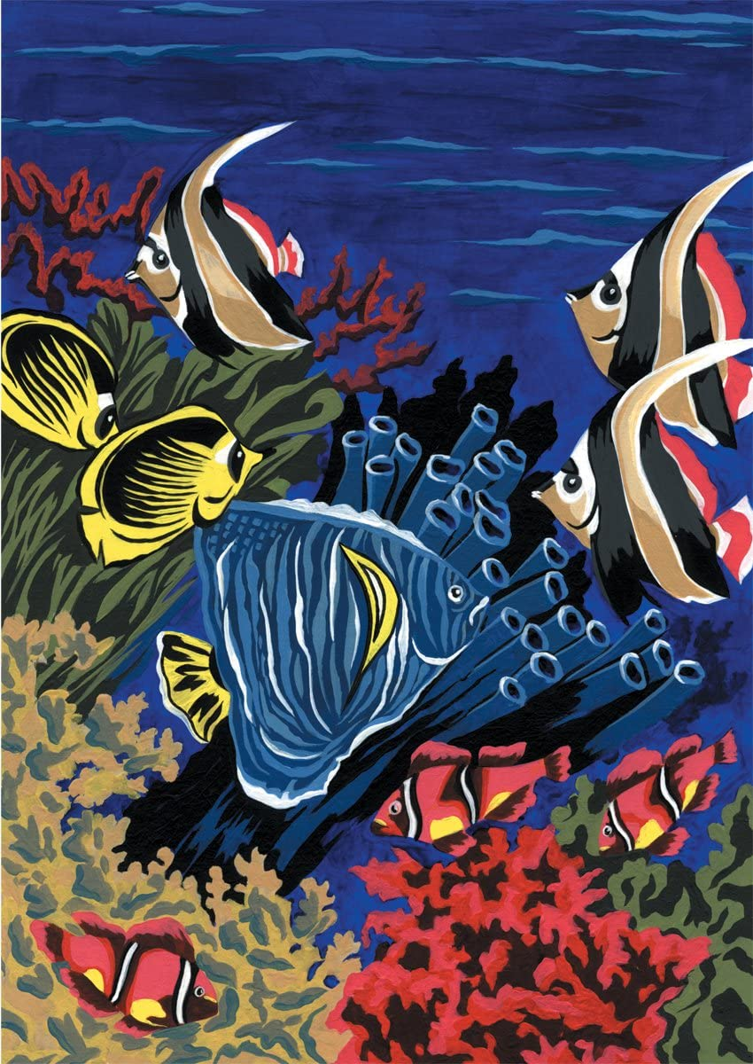 Underwater Life Diamante Crafts Painting by Numbers Kit PJS6 A4
