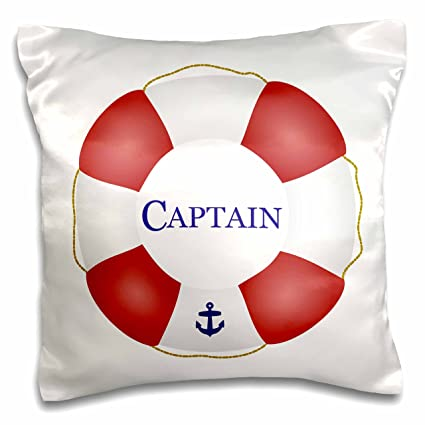 amazon com 3drose pc 112924 1 captain lifesaver ship life preserver