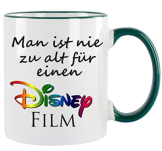 Man Ist Nie Zu Alt Für Einen Disney Film Kaffeetasse Mit Motiv
