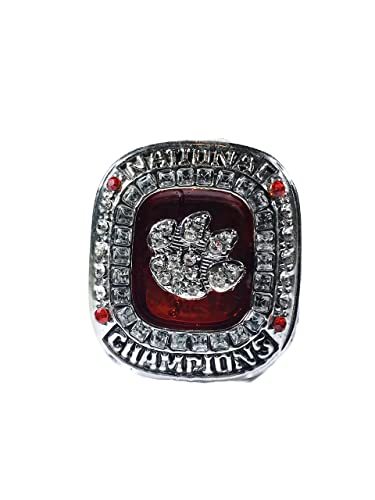 clemson win over arrive photo college orange rings for bowl clemsons oklahoma bolt s