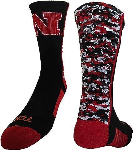 TCK Nebraska Cornhuskers Blackshirts Crew Socks