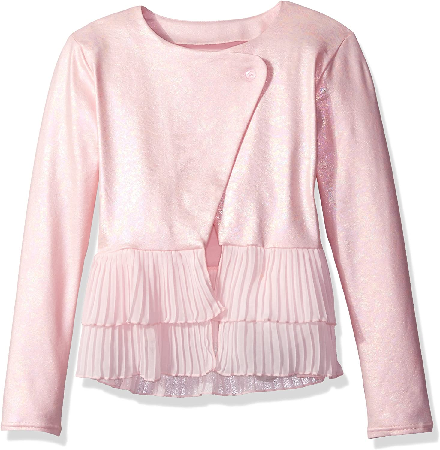 Capezio Girls Overlapping Pleated Jacket