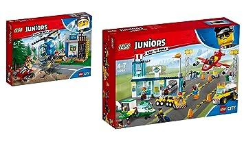 LEGO Bau- & Konstruktionsspielzeug LEGO Juniors 10751 Gebirgspolizei auf Verfolgungsjagd