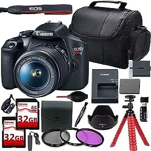 Canon EOS Rebel T7 - Cámara réflex Digital con Lente de 18-55 mm + ...
