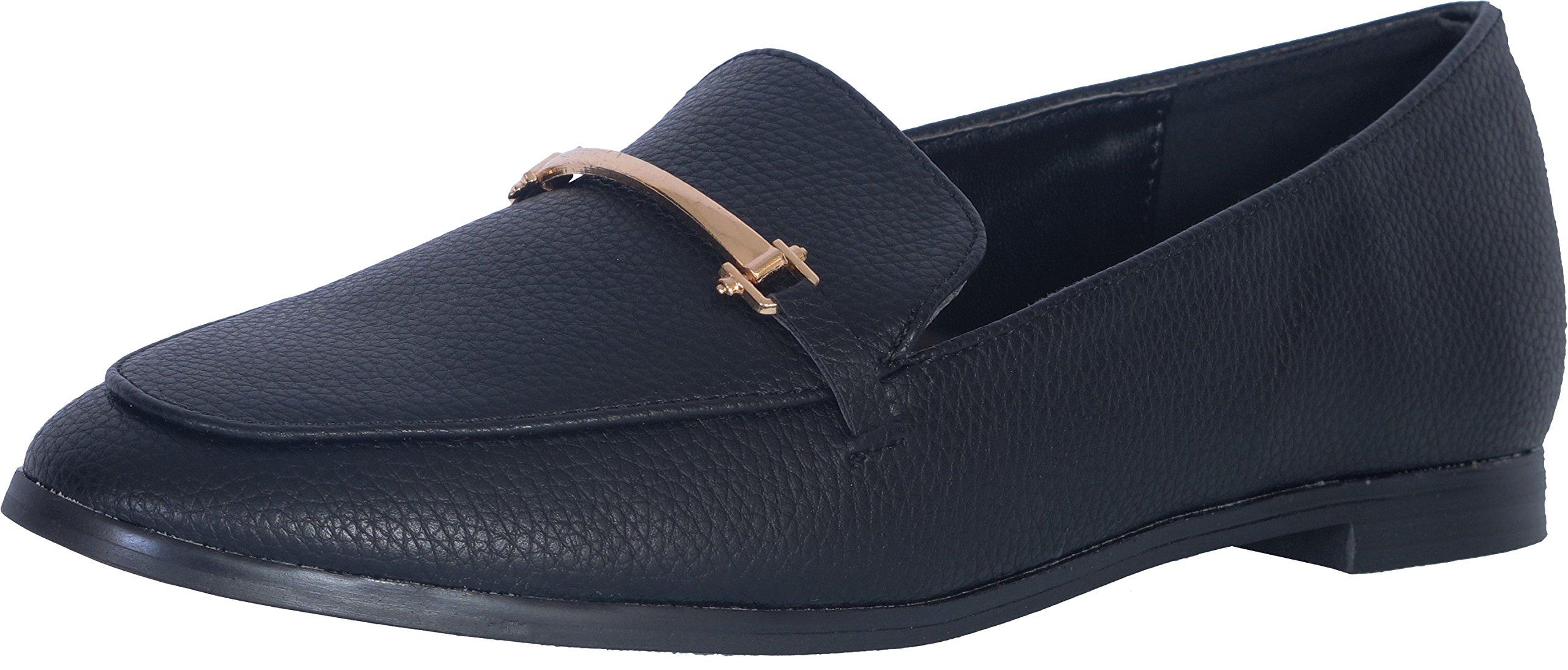 Catherine Malandrino Women's Slip-On Loafer, Black, 6.5 B(M) US' by Catherine Malandrino