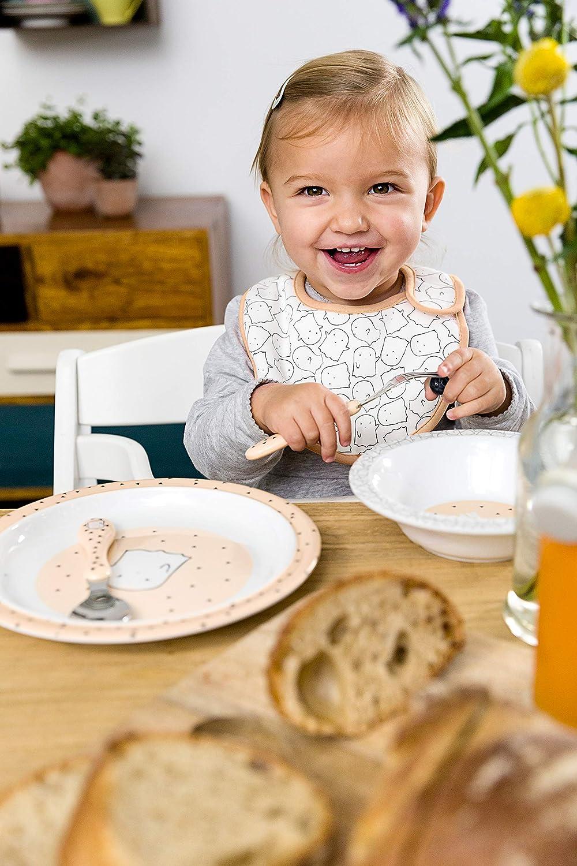 L/ÄSSIG Baby Kleinkind L/ätzchen Set Klettverschluss Baumwolle wasserdicht//Value Pack Bib Spookies 5 Stk.