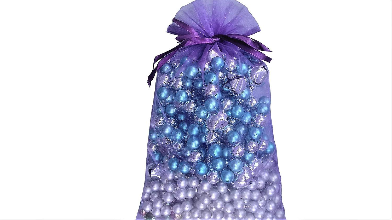 Amazon.com: Grandes bolsas de organza 10 Purple Haze 8 x 12 ...