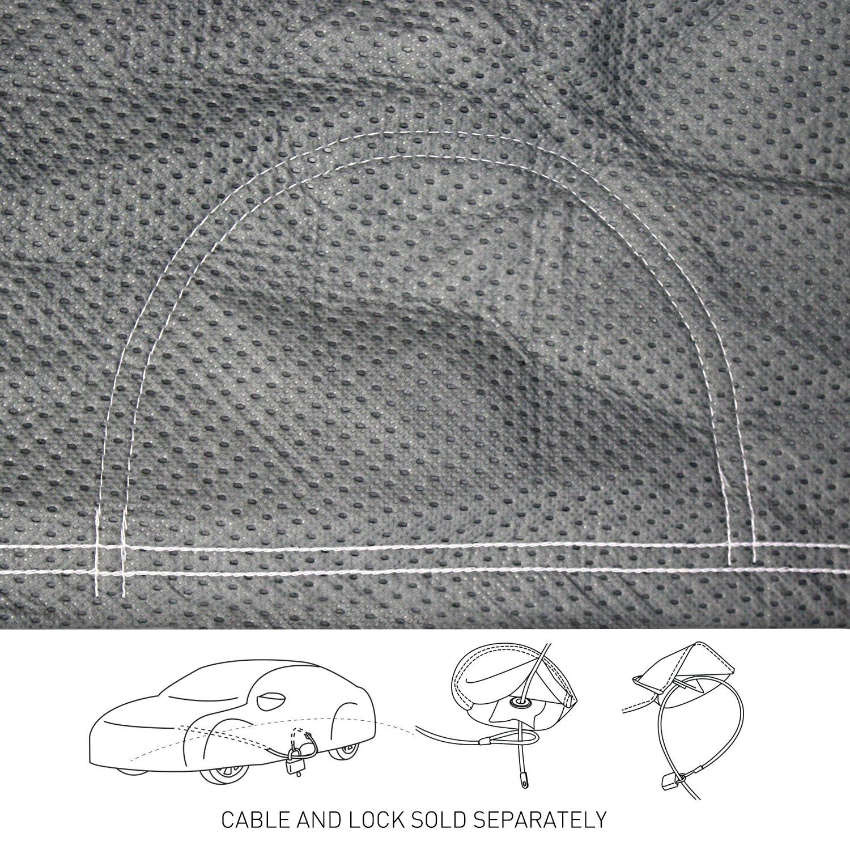 Coverking Custom Fit Car Cover for Select Mazda 6 Models Mosom Plus Gray CVC3O2GMA9372