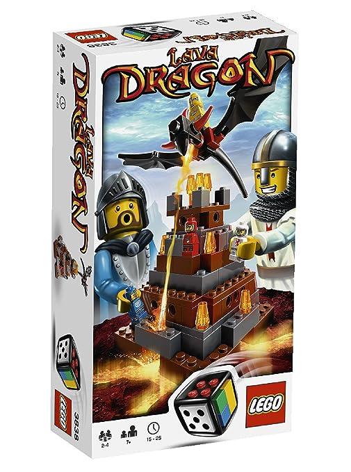 LEGO Juegos 3838 - Dragón de Lava [versión en inglés]: Amazon.es ...