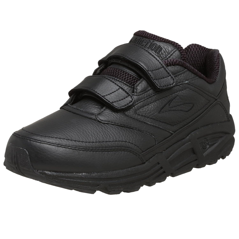 Brooks Addiction Walker V-Strap M - Zapatillas de correr de cuero hombre 46.5 EU|Negro (Black 001)