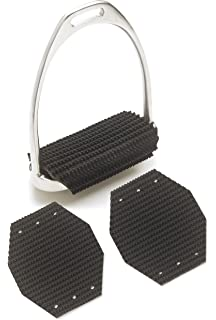 """4 3//4/"""" Rubber English Iron Replacement Fillis Inserts w//Sand Paper Grit Tread"""