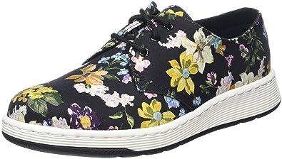fe32da03aab5 Dr. Martens Women s Darcy Floral Cavendish 3-Eye Shoe Black Darcy Floral  Fine Canvas