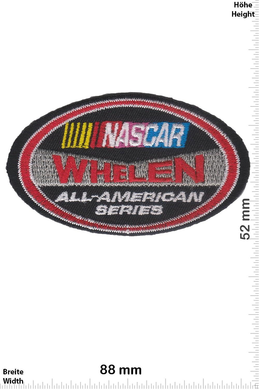 All American Series Iron On Aufn/äher Whelen Motorsport Patch Motorsport NASCAR zum aufb/ügeln NASCAR