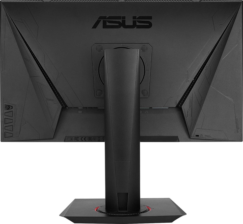 Full HD, G-Sync Compatible, DVI, HDMI, DisplayPort, 0,5ms Reaktionszeit, bis zu 165Hz ASUS VG248QG 60,96 cm Gaming Monitor 24 Zoll schwarz