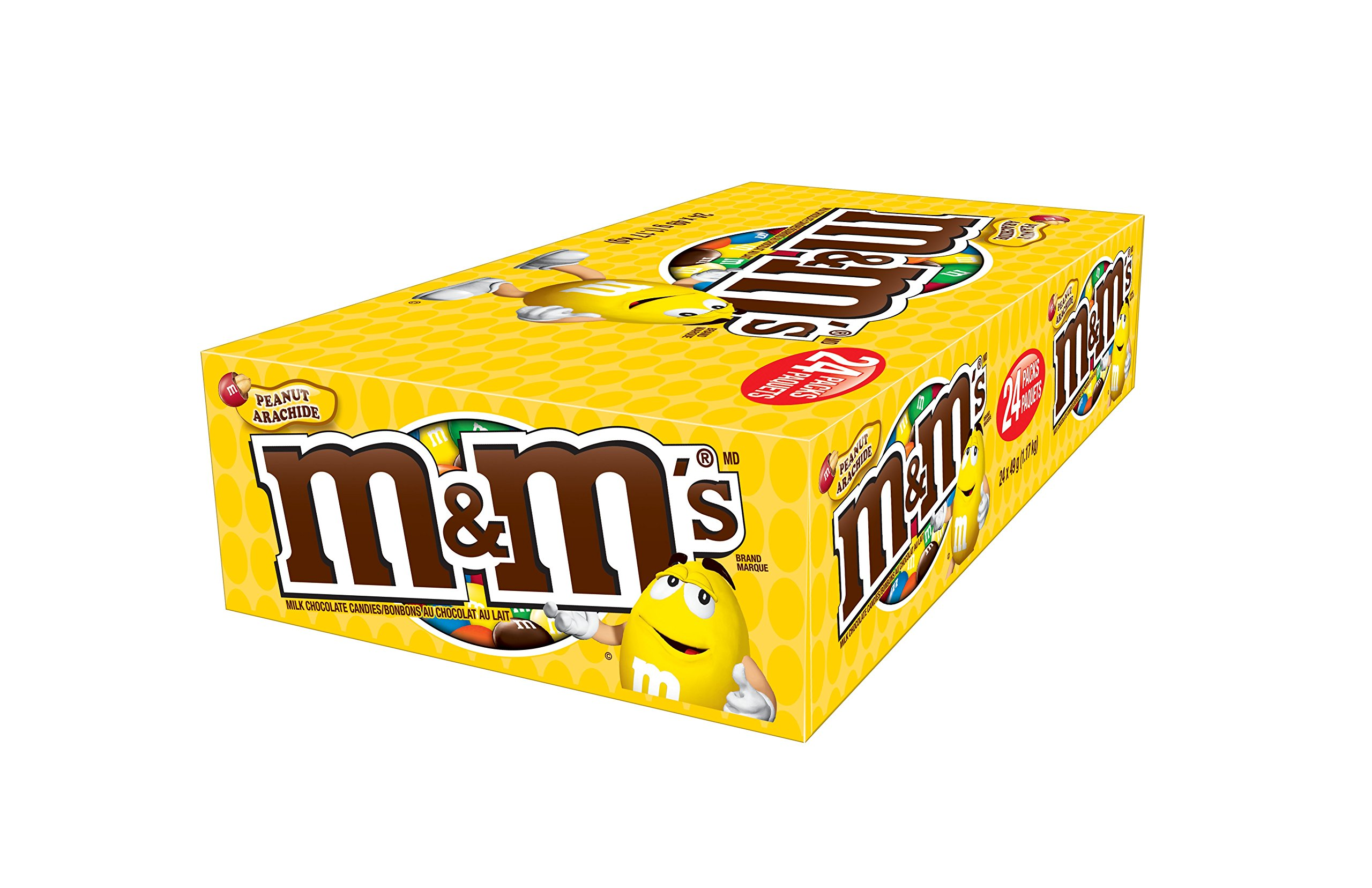 CDM product M&M's Peanut Candies 49g, 24-Count small thumbnail image