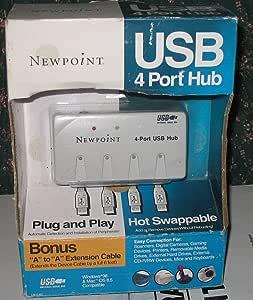 Newpoint USB 4-port Hub