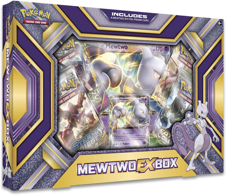 Pokemon TCG MewTwo EX Box: Amazon.es: Juguetes y juegos