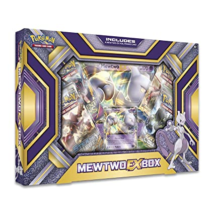 b5b43fb767ce2e Image Unavailable. Image not available for. Color: Pokemon TCG: Mewtwo Ex  Box