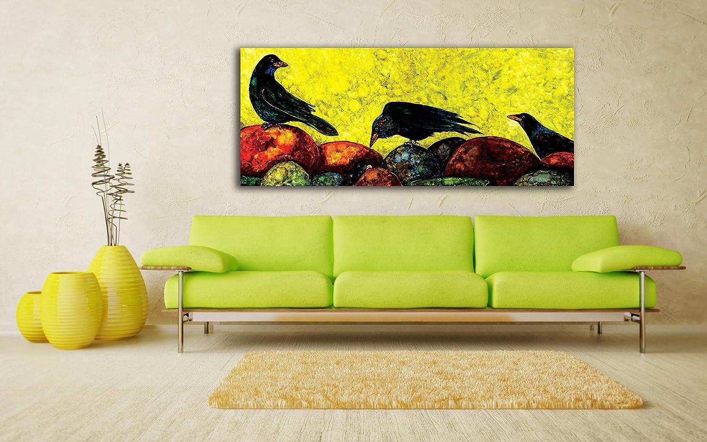 Tamatina Batik Art Canvas Paintings - Koel Birds - Traditional ...