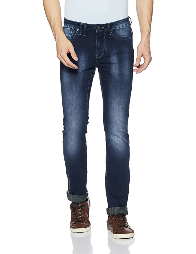 Flying Machine Men's (Prince) Slim Fit Tapered Leg Jeans Men's Jeans at amazon